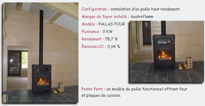 Chantier Austroflamm Pallas Four